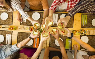 Mangia direttamente a casa tua le nostre prelibatezze